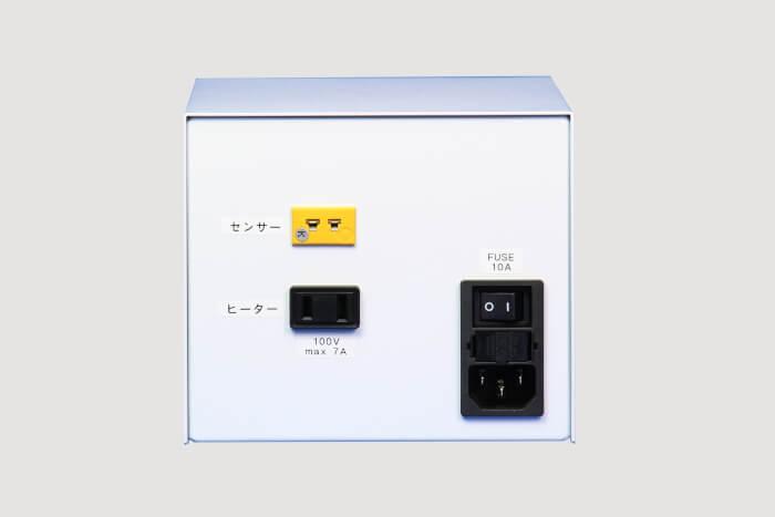 温度調節ボックス_背面